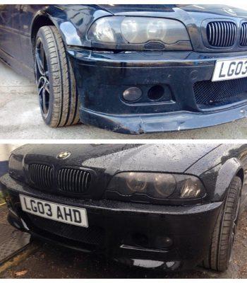 bmw-e46-330i-front-bumper-repair