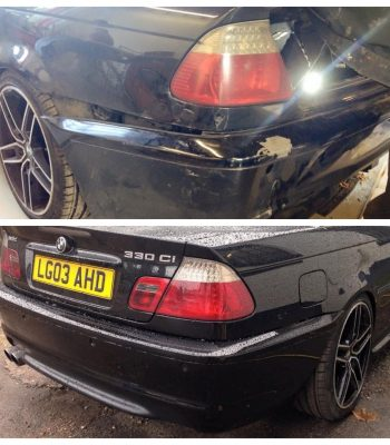 bmw-e46-330i-rear-bumper-repair