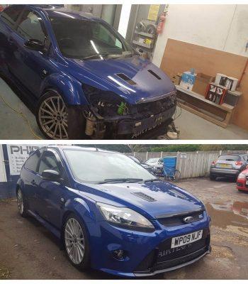 focus-rs-front-bumper-repair